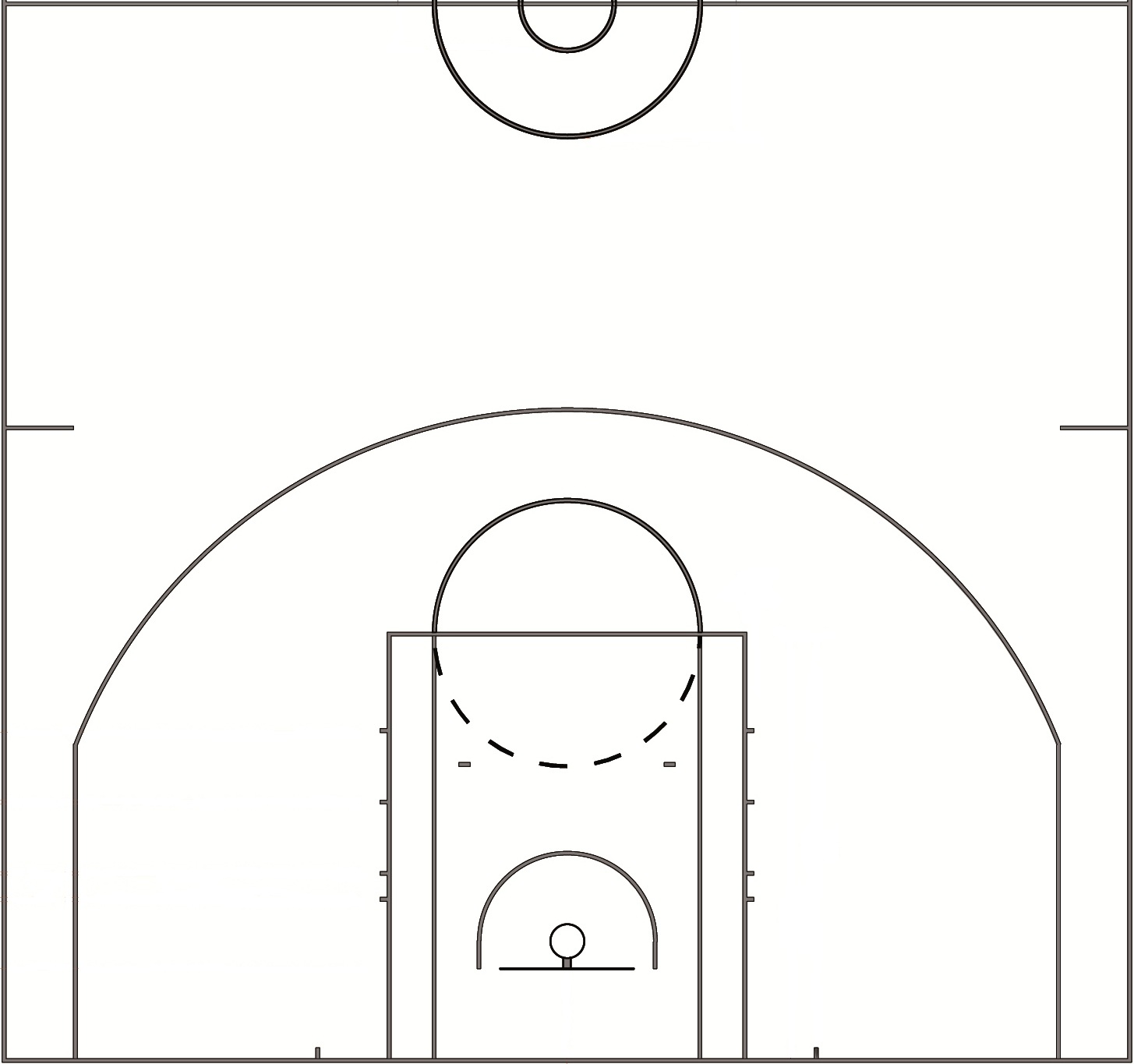 Search results for printables basketball court images for Size of half court basketball court