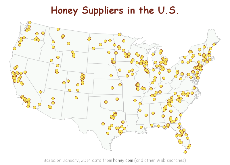 Honey Suppliers in the U S