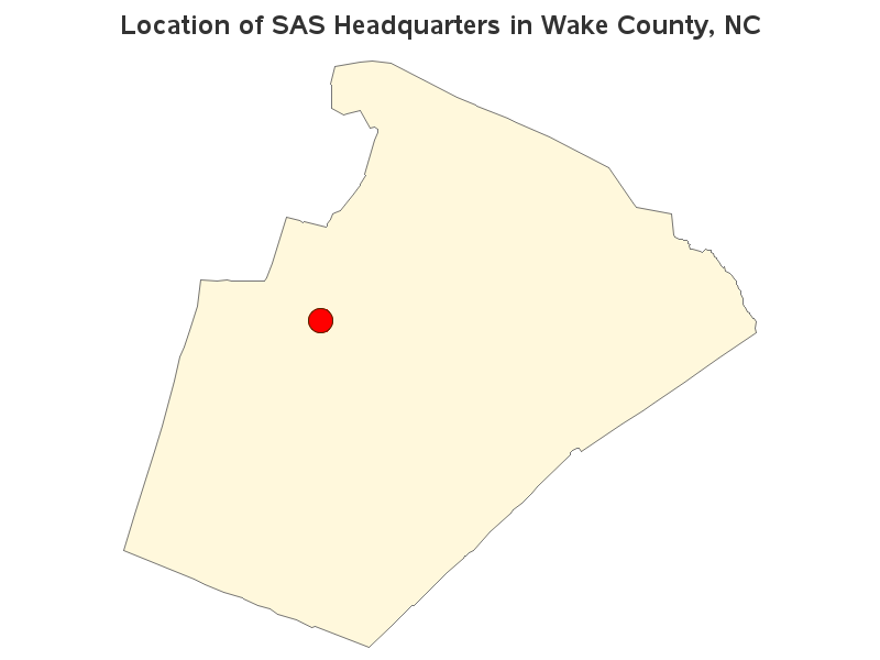 Wake County Zip Code Map. The Results From The Customer Addresses ...
