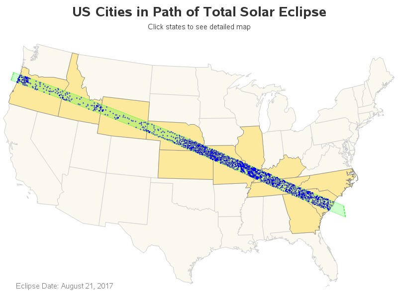 Text Placed Over Map Text As Watermark North Korea Distance Total Eclipse Path